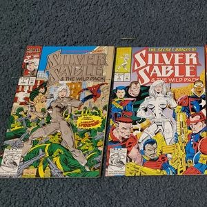 Silver Sable and The Wild Pack Comic Lot